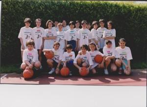 1987 MINIBASKET gruppo